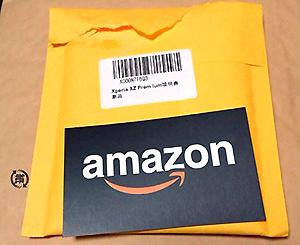 Amazon 感謝状 郵送